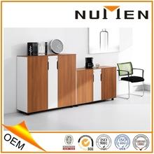 solid wood modern four drawer vertical filing cabinet