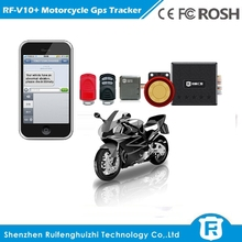 Mini anti theft gps tracking device on goole map real-time motorcycle gps tracking device RF-V10+