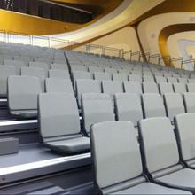 School concert hall superior folded soft tribune seating