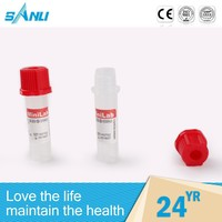 Automatic personalized disposible micro blood sample collection tube