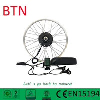 36V250W direct drive motor with integrated controller and torque sensor electric bike conversion kit