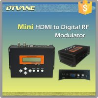 HDMI to DVB-C DVB-T DVB-S2 Encoder Modulator and 8 Channels CATV AV HD Digital Audio Video MPEG4 DVBT HDMI to DVB-T RF Modulator