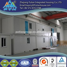prefabricated living container homes