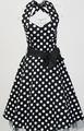 fabricante faldas ropa vestido lunares falda acampanada estilo años 50 vintage moda tallas grandes