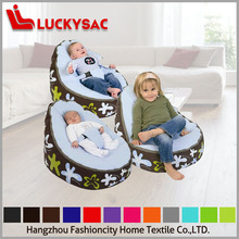 lovely design baby sleeping bean bag sofa as a unique and organic gift for baby