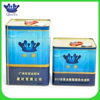 Professional water based polyurethane waterproof coating