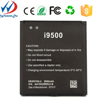 2600 mah battery with high quality for mobile phone for samsung s4,for i9500