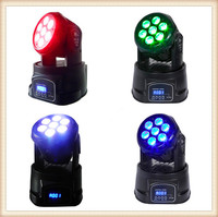 10 watt RGBW 4in1 silm rgbw 10w moving head led