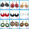 Colour rhinestone earring fashion earring designs new model earrings