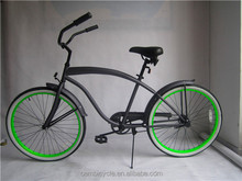 Wholesale 26'' Steel Frame And Aluminum Alloy Material Beach Cruiser