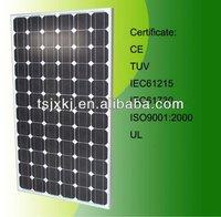 185w monocrystalline solar module/TUV/CEC
