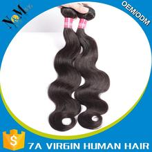 Manufacturer supply brazilian human hair hair extension claw clip ponytail
