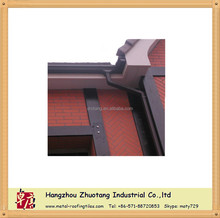 Different Color High quality Pvc 7inch Rainwater gutter System factory
