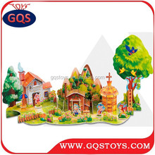 Best selling products kids toy the three little pigs puzzle game