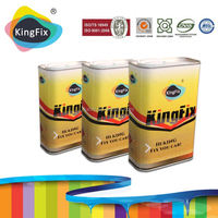 KINGFIX Brand Strong resilience performance high grade car paint