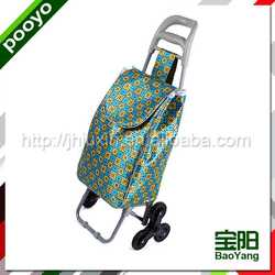shopping trolley bag with seat hot selling pp laminated woven bags leno mesh bag