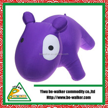 Popular Style dog shape Pillow toy in purple