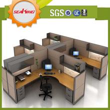 Optional office desk modular workstation