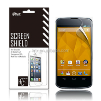Cell phone screen protector for Google Nexus 4 oem/odm(High clear)