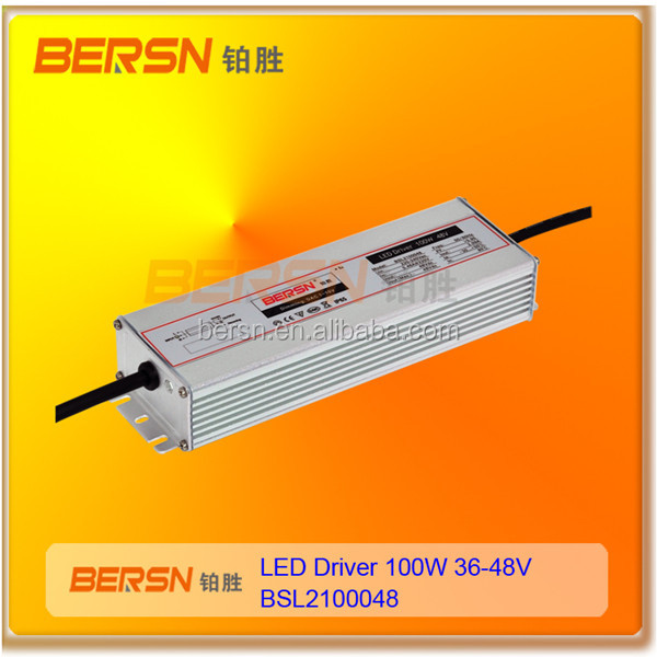 High power ip67 Led driver 100w OEM