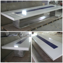 Meeting room table aluminum conference table luxury conference room table