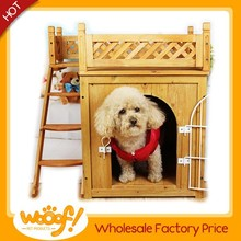 Hot selling pet dog products wooden dog bed
