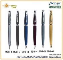 Latest popular metal promotional ballpoint pen ,ballpen/business pen 998