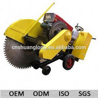 cut 16 inch diesel concrete floor cutter with spare parts