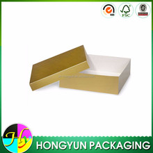 factory made cheap foldable paper packing box