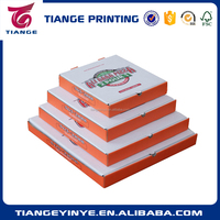 Customized Recyclable Corrugated Paper Pizza Box
