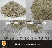 MU npk slow release Fertilizer for golf turf Green and Fairway(50%MU)