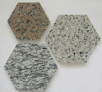 Cheap Chinese Granite hexagon paving stone, Hexagon floor tile paver