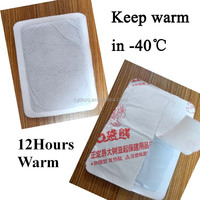 Original Factory Warm 10 Hours CE Approved Air-activated leg knee warmer Adhesive instant Heat Pack