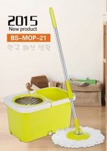 2015 newest 2 wheels 360 magic spin mop household cleaning products
