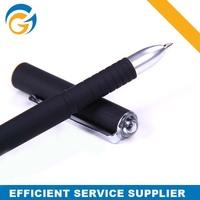 Black Pen Holder Logo Plastic Ball Pen,Gel Pen Refill for Promotion