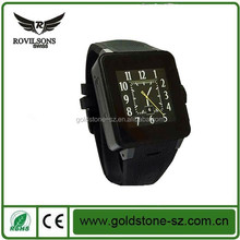 2015 hot unqiue professionally-manufactured android 4.4 smart watch from shenzhen factory