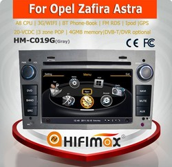 Hifimax car audio video entertainment navigation system for OPEL ANTARA(2006-2010) black color