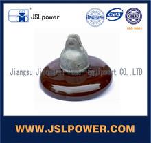 ANSI Standard 52-4 Porcelain Suspension Type Insulator For High Voltage