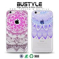 Wholesale the Latest 3D Paisley Hard Slim Mobile Phone Case for Apple iPhone 5 6 6s plus