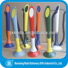 2014 Promotional factory price Plastic bank chain pen