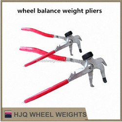 wheel balance weights plier, tire repair tool