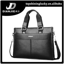 Leather handbags for men business fashion briefcase tote bag