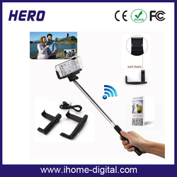 2014 cheap HOT WHOLESALE for mobile accessory selfie stick
