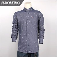 Famous Brand New Products colour changing men's casual suede shirt