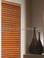 Modern Office and Home Style Cut Down Basswood Venetian Blind
