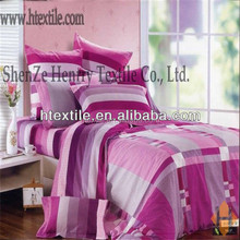 cotton bedsheet by satin fabric /comforter bed set (high quality)