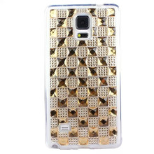 Cell phone accessories bling diamond crystal tpu case For samsung galaxy note4