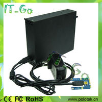 New item Mini pci-e to dual PCI card converter laptop mini pcie to 2 pci slot adapter with enclosure