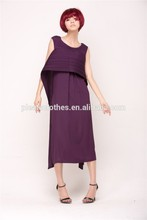 Cheap Customize Fashion Lady Dress 2014, Mature Lady Evening Dress In China