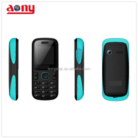 Low end dual sim small cute mobile phone with colorful shape